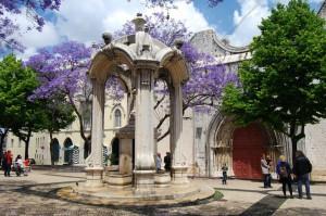 Somber Solitude in Lisbon