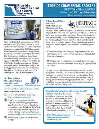 May 2015 E-Newsletter