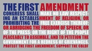 First Amendment Free Speech
