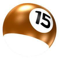 15 cue ball