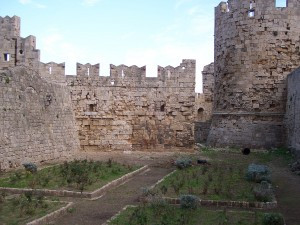 Wander the Moats of Rhodes