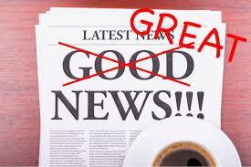 great news headline