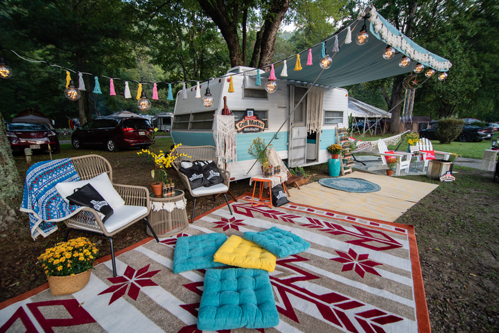 McCormick partnered with RV rental marketplace RVshare and Kampgrounds of America to host the outdoor pop-up spots as a way to tap into the growing number of travelers who are deciding to hit the road this year.