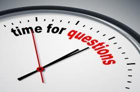 questions 3 with clock