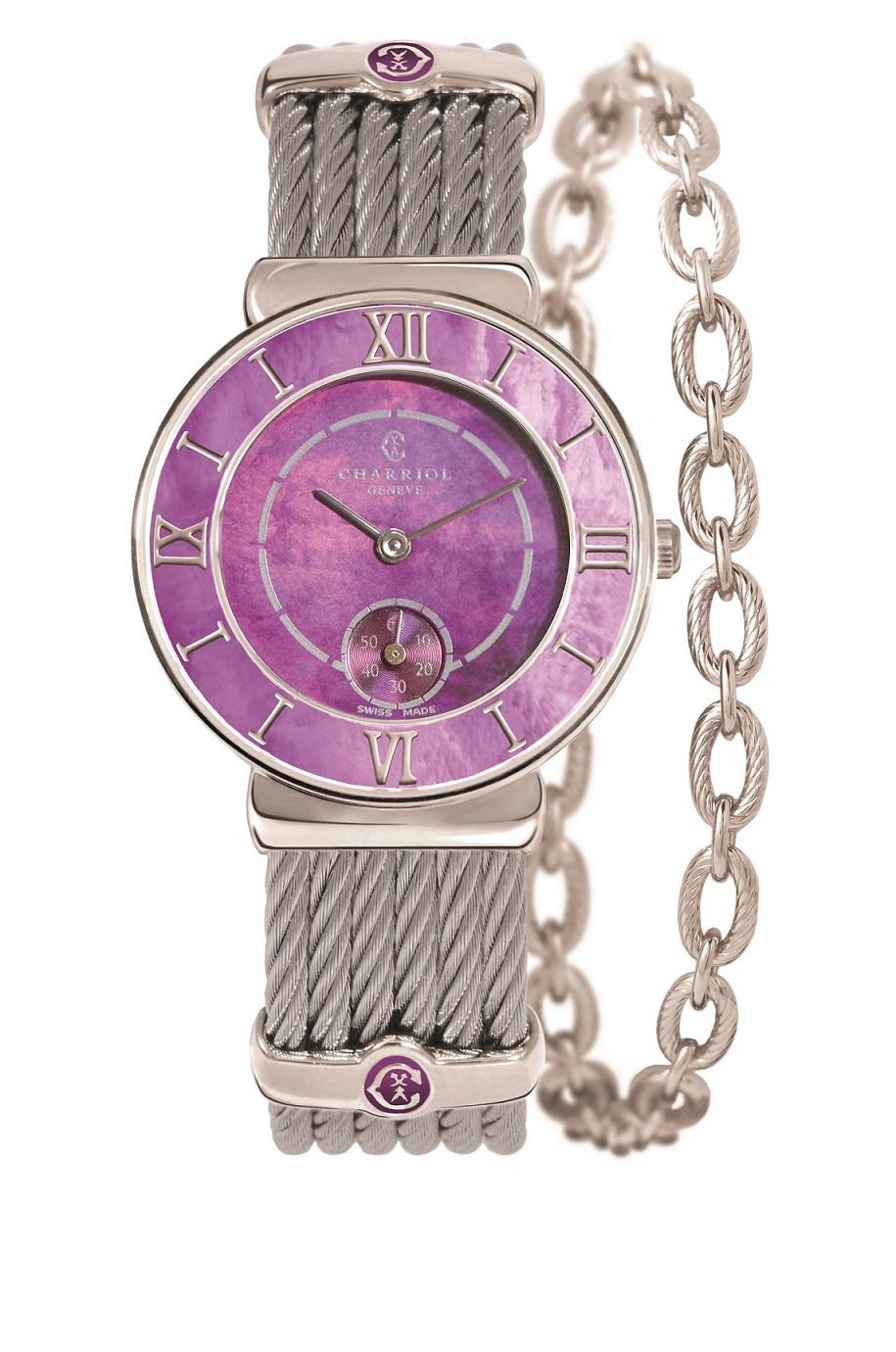 夏利豪 St-Tropez Plum腕錶 NT$63,700