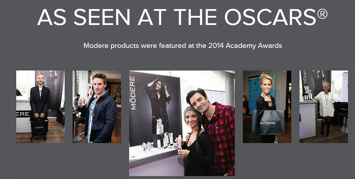 Modere 2014 oscar gift for stars