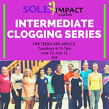 Intermediate Clogging series for Adults