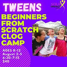 Tweens Beginners From Scratch Camp.png
