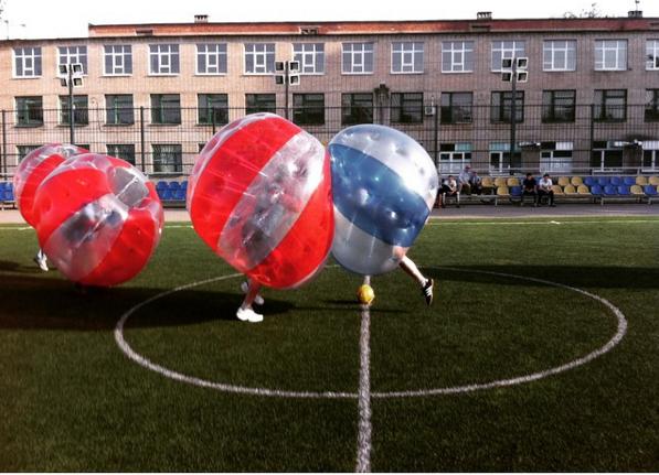 Бампербол в Ростове-на-Дону