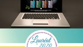 Lauréat 2020 objectif web Cma92