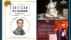 """Labellisé """"Artisan du tourisme"""" des Hauts-de-Seine"""