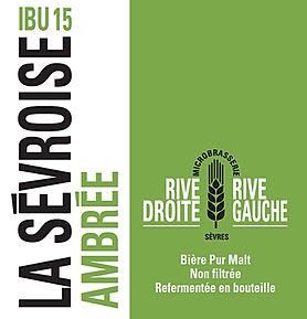 Biere ambrée La Sévroise IBU 15