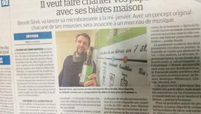 Un p'tit article dans le Parisien... ça fait du bien !