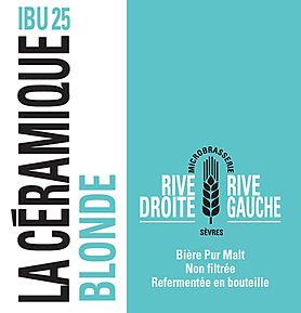 Biere blonde La Céramique IBU 25