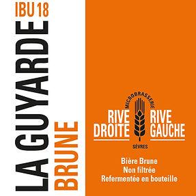 Biere brune La Guyarde IBU 18
