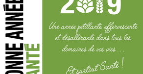 Bonne année 2019 - Santé !