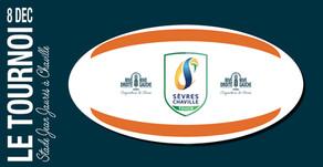 A la 3ème mi-temps du Rugby Touch Sèvres Chaville