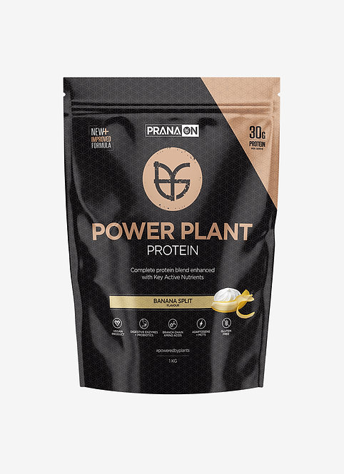 Power Plant Protein 1KG + Glute Band