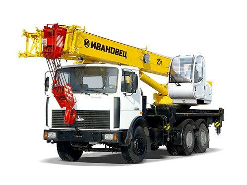 Услуги автокрана 10-35 тонн