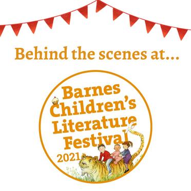 Behind the Scenes at Barnes Children's Literature Festival