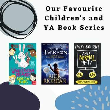 Our Favourite Children's and YA Book Series