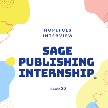 BAME Internship At SAGE Publishing: An Interview