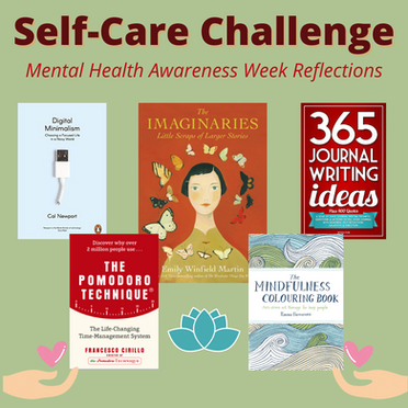 Mental Health Awareness Week: Self-Care Challenge