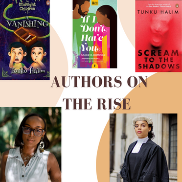 Fresh off the Press: Three Authors on the Rise