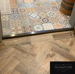 Luxury Vinyl Tile & Premier Trim