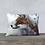 "Thumbnail: Housse de coussin ""Lovely Fox"" 20""x14"""