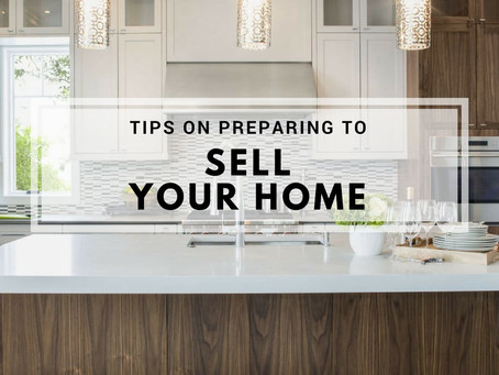 Preparing to Sell Your Home?