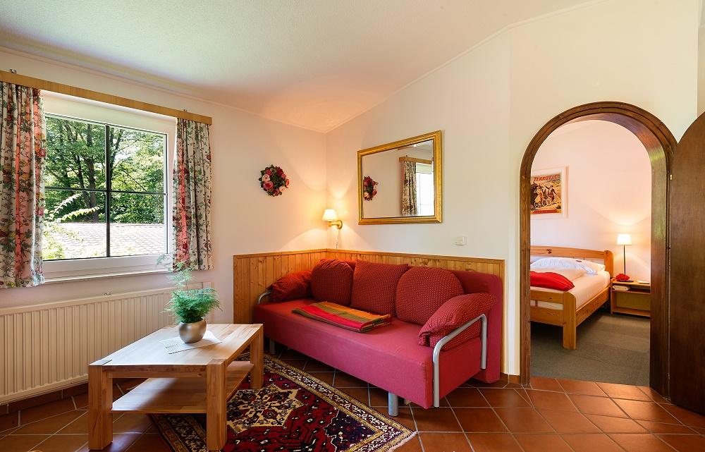 Pavillon - Wohnzimmer