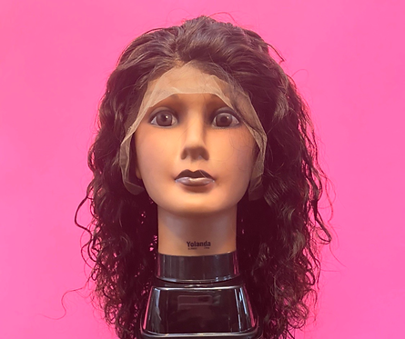Curly Frontal Wig