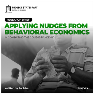 Applying Nudges from Behavioral Economics in combating the COVID19 Pandemic