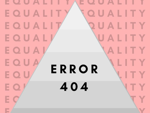 ERROR 404: Equality Not Found, Data not found, change not measured