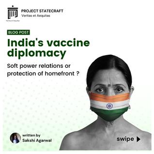 India's Vaccine Diplomacy
