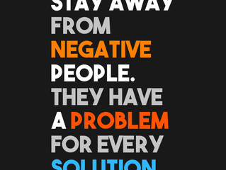 Negativity and Your Weekend Challenge