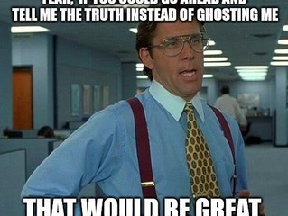 The Ghosts of Dating Past....