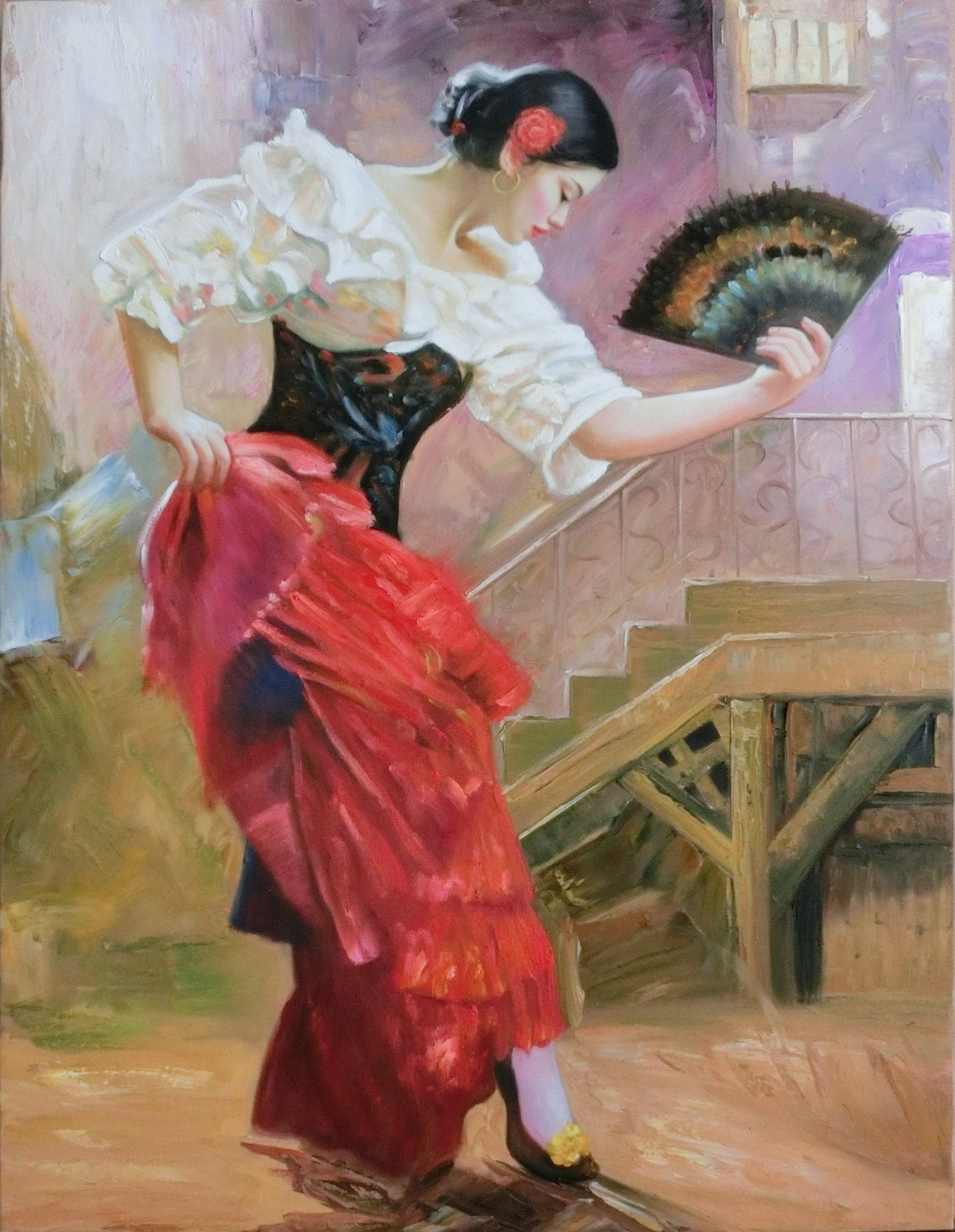 Flamenco Dancer 70cmx90cm.jpg