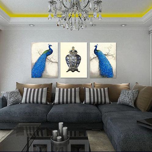 Peacock 40cm x 60cm