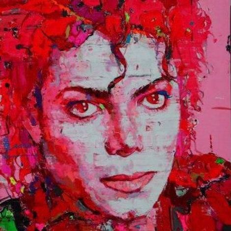 Michael Jackson (麦克尔 杰克逊). 150 x 150cm.