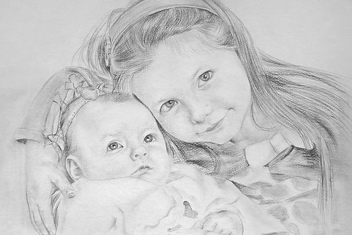 Customize Portrait Gift Drawing Painting Services