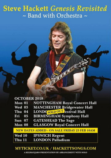 Orchestrating Ripples Across The Pond: A Collective Interview With Steve Hackett, Band, & Conductor