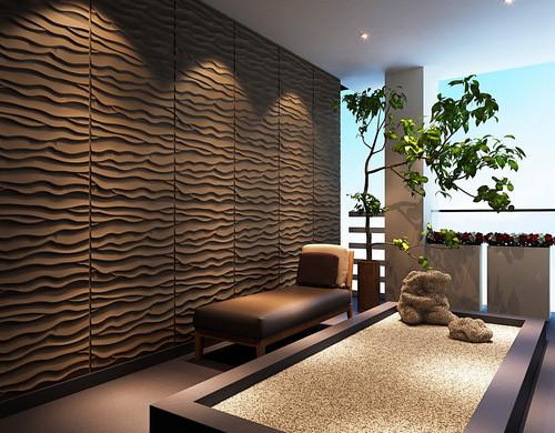 3D Wandpaneele aus Bambusfaser günstig online kaufen