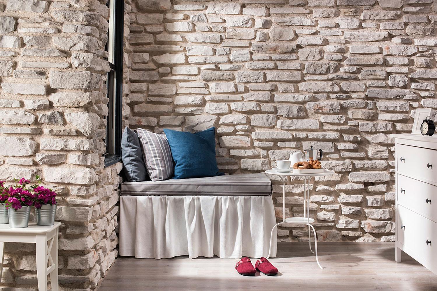 Wandverblender kunststein pietraeco cappadocia for Steindekor wand innen