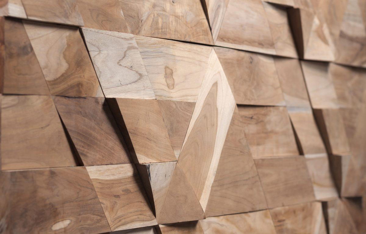 Wonderwall studios wooden panel jazz - Holzriemchen wand ...