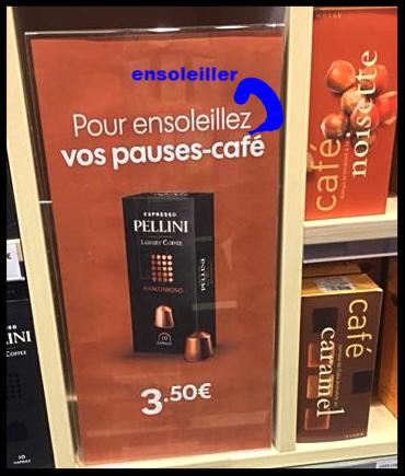 Faute de français sur PLV -bescherelletamere.fr-