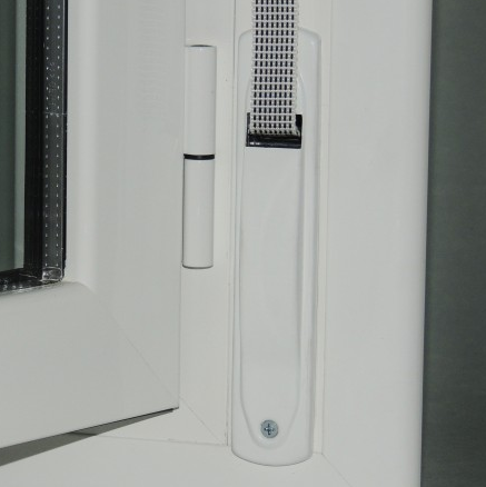 Detalle recogedor persiana monoblock