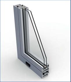Corte ventana practicable PR 45