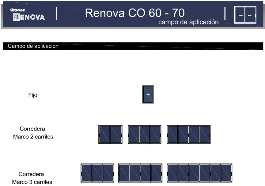 Renova CO 60 - 70 (diseños)